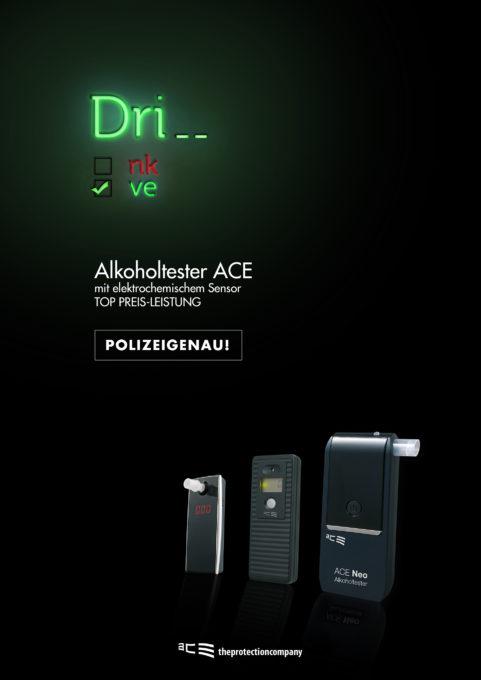 Plakatserie ACE Drive