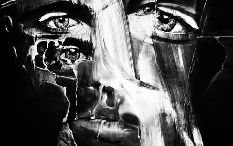 Acryl auf Leinwand / 100x80 cm