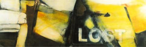 Lost I Acryl auf Leinwand 170x60cm