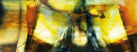 Malerei/Grafik auf AluDibond 150x50cm