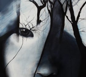 Acryl auf LW / inspired by Antonio Mora / 100x200cm