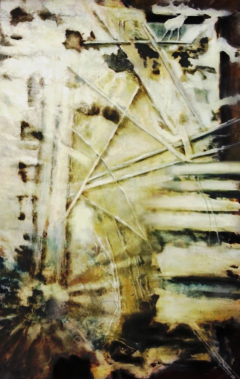 Öl/Acryl auf Leinwand / 100x160cm